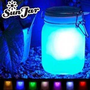 Solar Powered, Seven Colour Sun Jar!